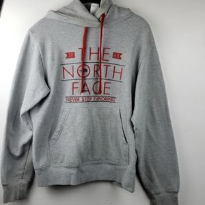 North Face Mens Pullover Hoodie Size S/P